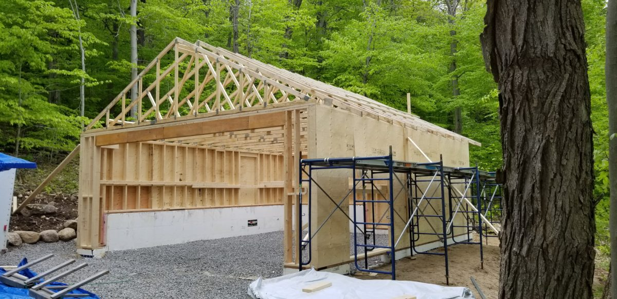 Garage Roof Trusses