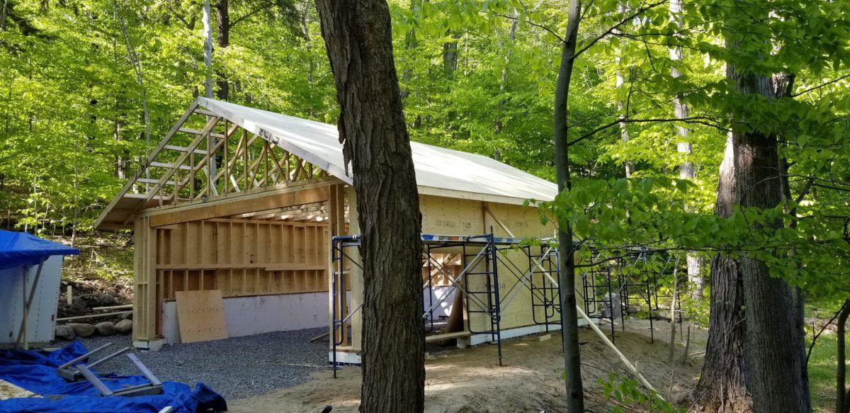 Garage Roof Sheeting
