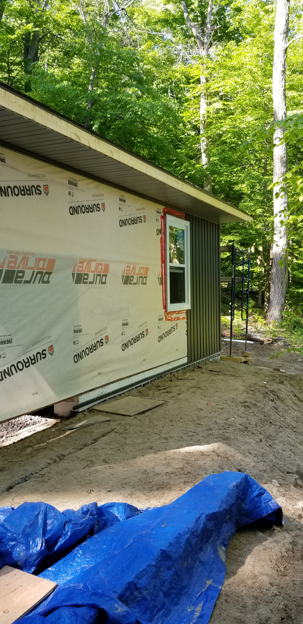 Garage Board and Batten Siding