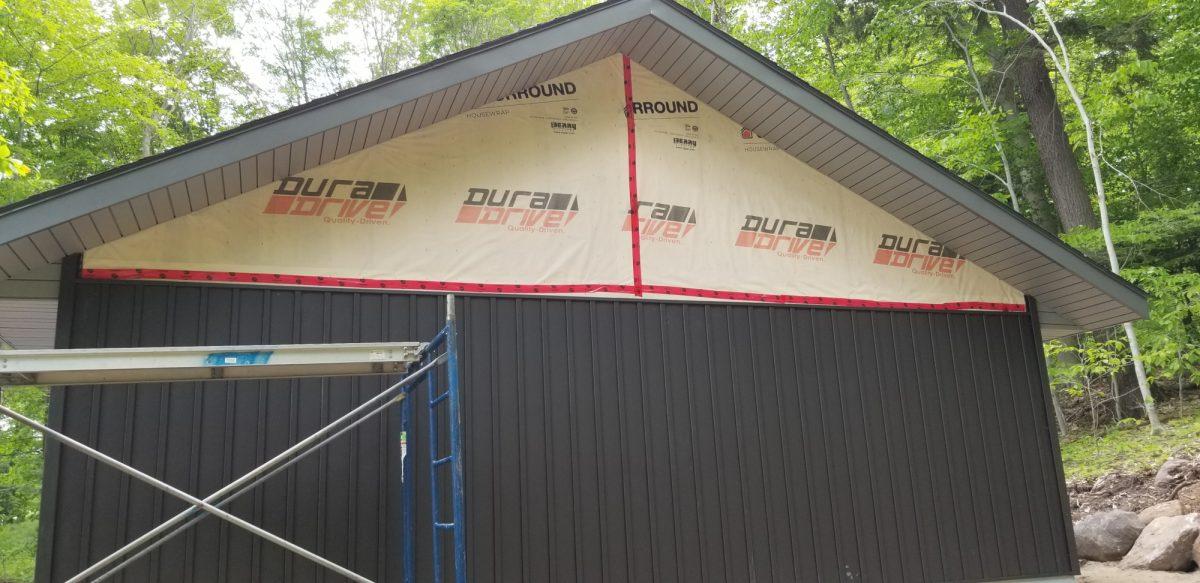Garage Board and Batten Siding