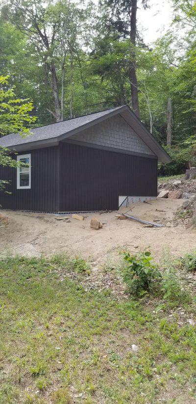 Complete Garage Back