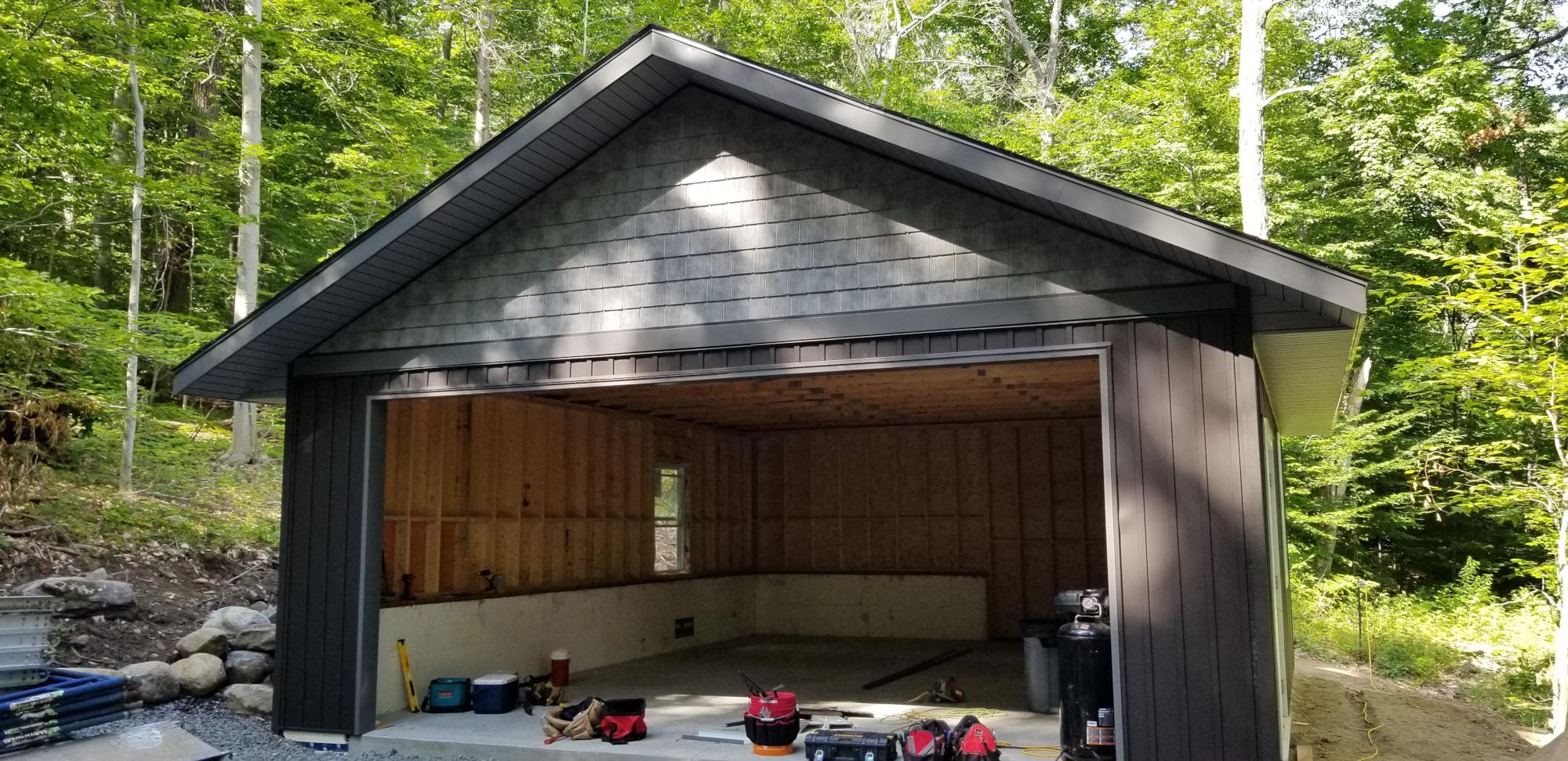 Complete Garage Front
