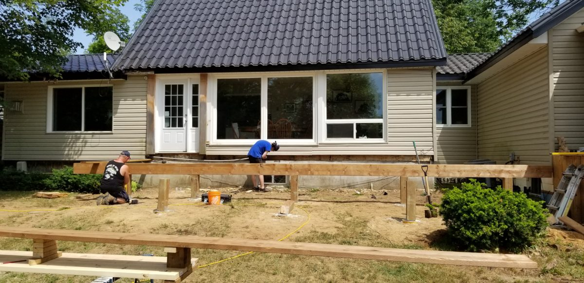 Deck Construction in Bala Ontario